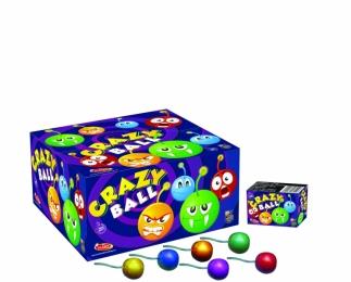 Crazy Ball 6 ks - originál s atestem